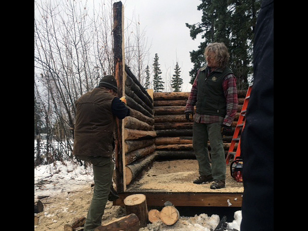 Cabin Building Workshop Education Alaska Trappers