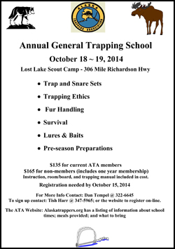 2014 Annual General Trapping School
