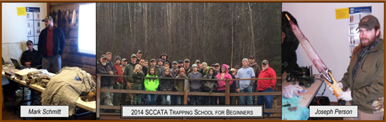 2014 Annual SCCATA Trapping School Photo