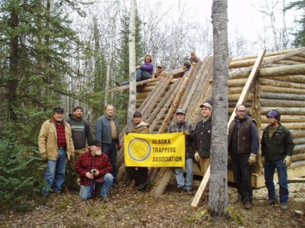 Cabin Building Workshop - Click to enlarge.
