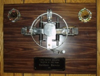 Trapper of the Year Plaque